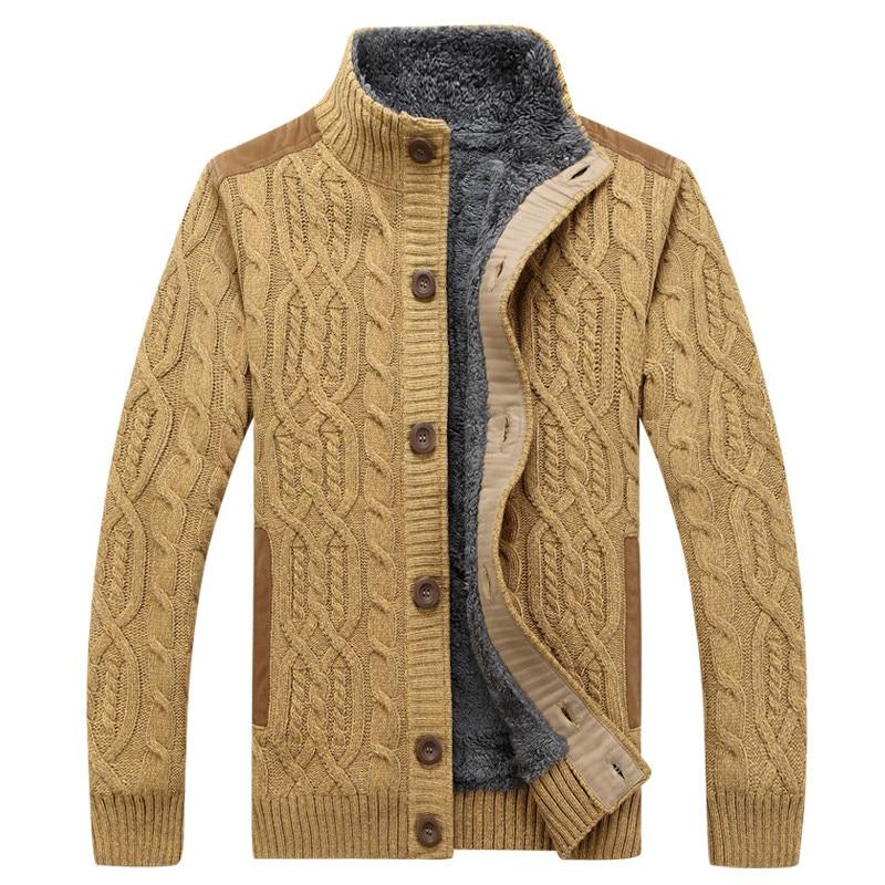 [해외]2019 남자 스웨터 패턴 니트 남자 스웨터 겨울 따뜻한 두꺼운 벨벳 스웨터 코트 싱글 브레스트 캐주얼 가디건 3xl/2019 남자 스웨터 패턴 니트 남자 스웨터 겨울 따뜻한 두꺼운 벨벳 스웨터 코트 싱글 브레스트 캐주얼 가디건 3xl