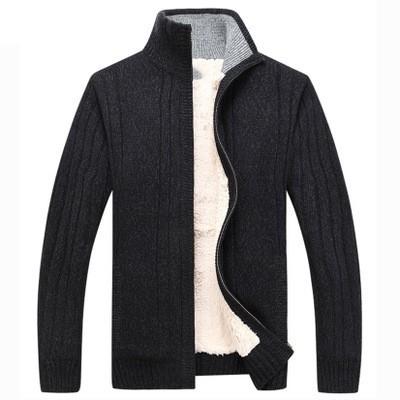[해외]2019 브랜드 남자의 겨울 두꺼운 가짜 모피 스웨터 코트 남성 솔리드 컬러 슬림 맞는 스웨터 가짜 양모 스웨터 코트 크기 3xl/2019 브랜드 남자의 겨울 두꺼운 가짜 모피 스웨터 코트 남성 솔리드 컬러 슬림 맞는 스웨터 가짜 양모 스웨터