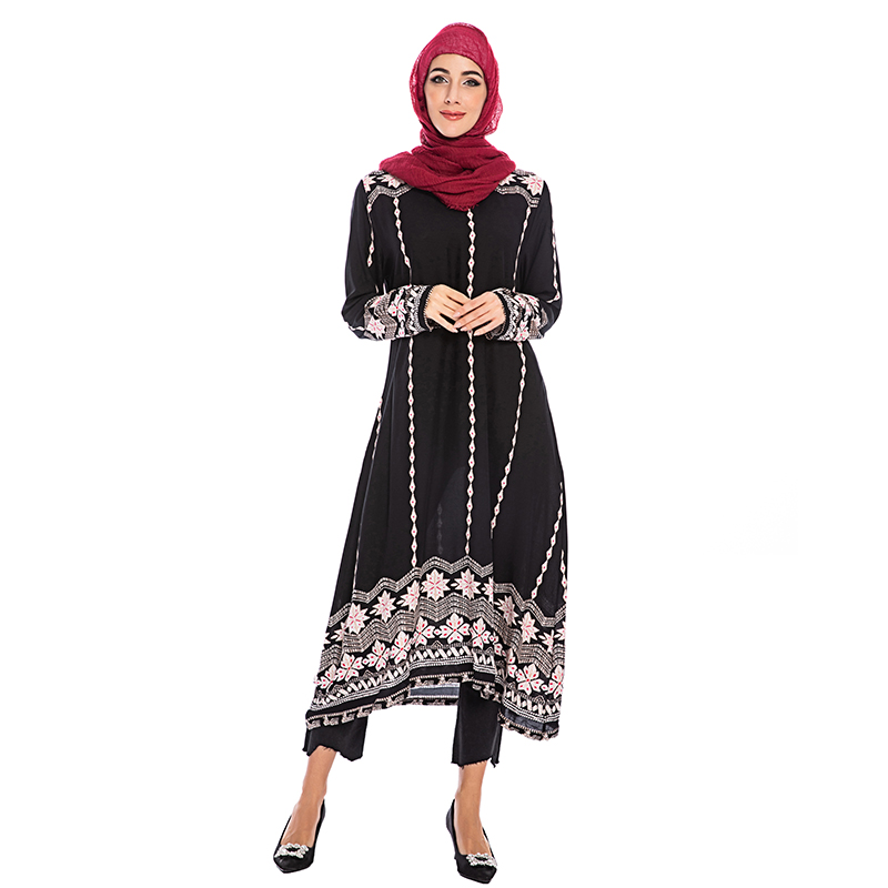 [해외]Vestidos abaya 터키 이슬람 아랍어 이슬람 드레스 caftan 두바이 kaftan 모로코 아랍 tesettur elbise 가운 musulmane hijab 드레스/Vestidos abaya 터키 이슬람 아랍어 이슬람 드레스 caft