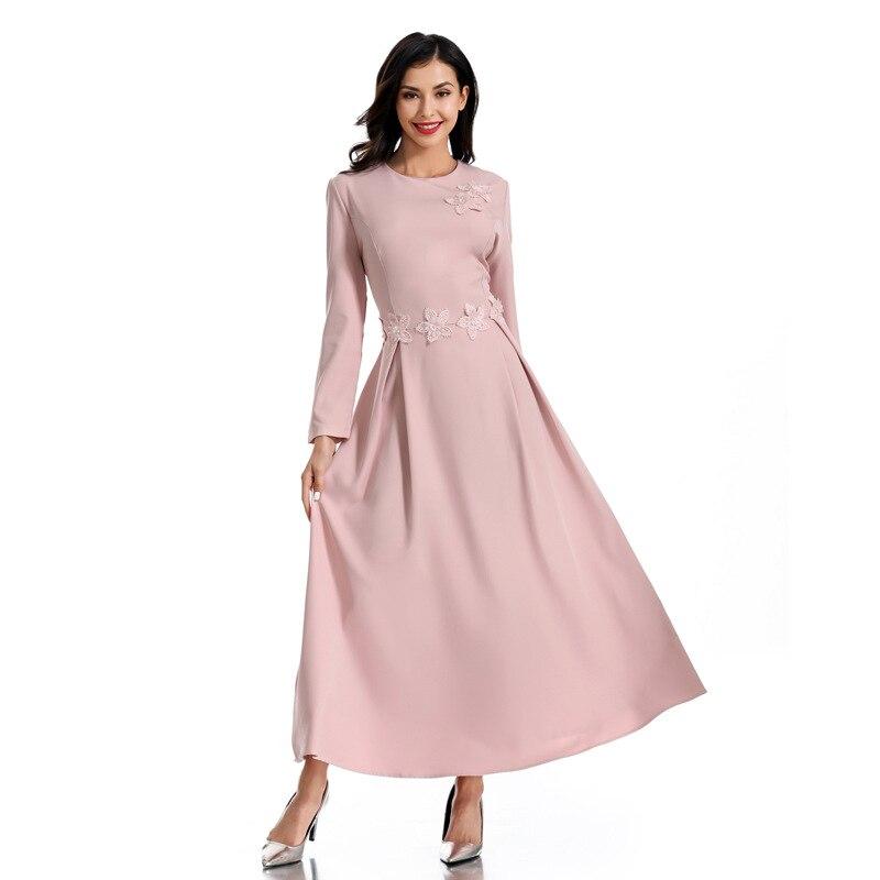 [해외]Vestidos abaya 두바이 hijab 아랍어 이슬람 드레스 터키 caftan elbise kaftan 라마단 아랍어 이슬람 드레스 가운 femme sukienki/Vestidos abaya 두바이 hijab 아랍어 이슬람 드레스 터키 c