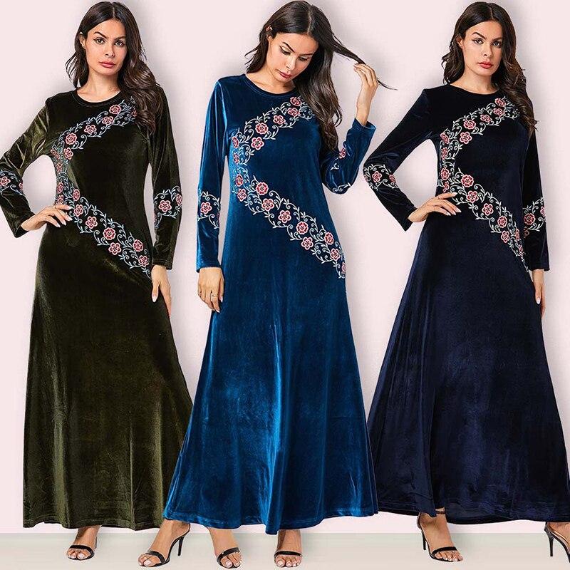 [해외]방글라데시 abaya kaftan 두바이 긴 소매 hijab 이슬람 드레스 이슬람 의류 터키어 드레스 caftan 가운 이슬람 abayas 여성을위한/방글라데시 abaya kaftan 두바이 긴 소매 hijab 이슬람 드레스 이슬람 의류 터키어