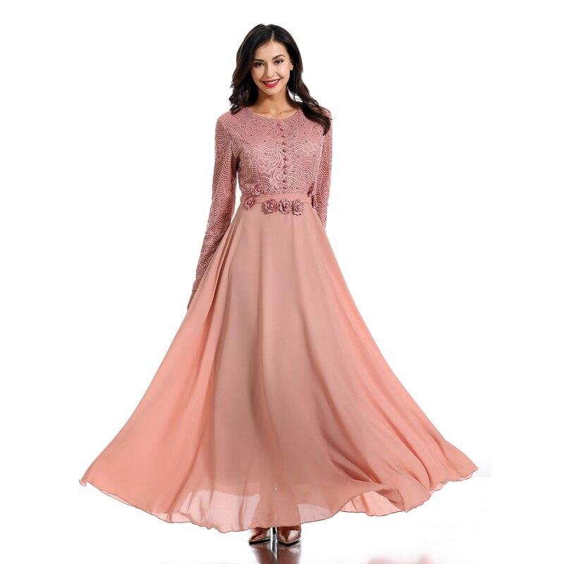 [해외]핑크 abaya 터키 로브 두바이 이슬람 드레스 abayas 여성용 kaftan hijab 드레스 카타르 caftan marocain elbise 이슬람 의류/핑크 abaya 터키 로브 두바이 이슬람 드레스 abayas 여성용 kaftan hi