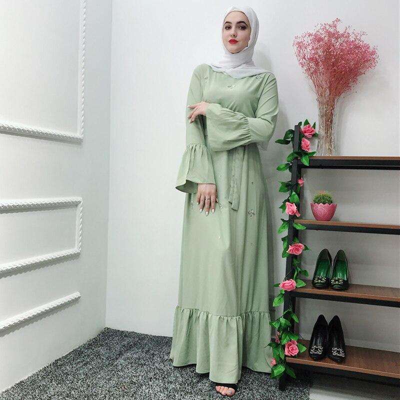 [해외]Abaya 터키 kaftan 가운 두바이 이슬람 hijab 드레스 caftan elbise 카타르 아랍 터키 이슬람 의류 abayas 여성 라마단/Abaya 터키 kaftan 가운 두바이 이슬람 hijab 드레스 caftan elbise 카타르