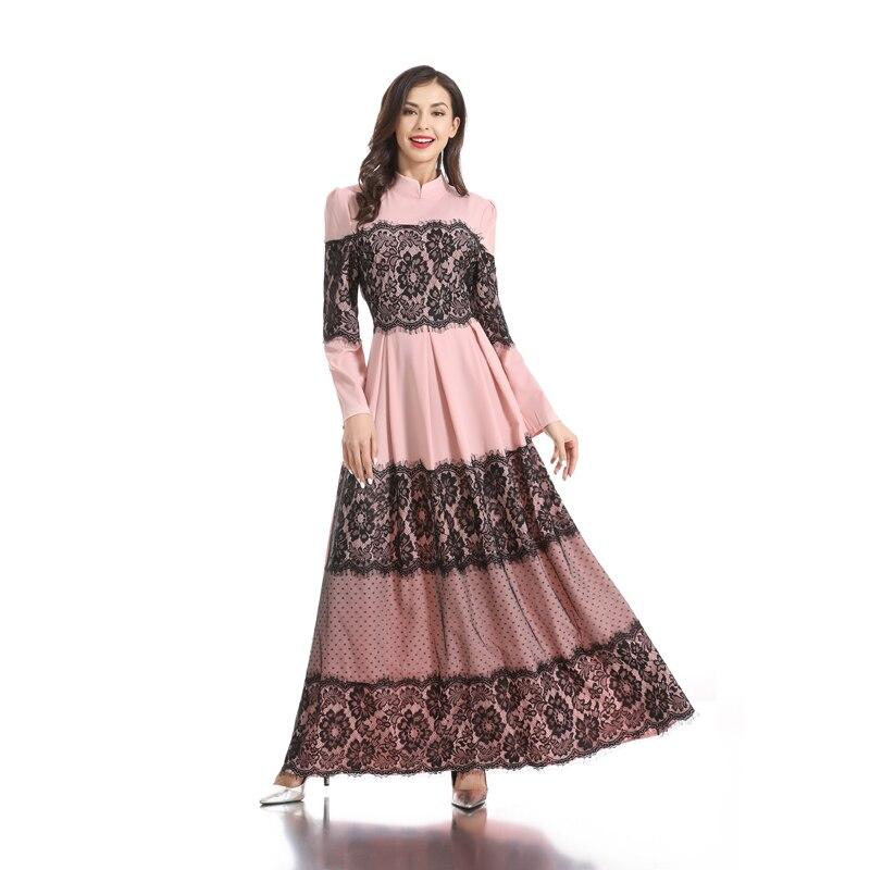 [해외]레이스 abaya 두바이 이슬람 드레스 라마단 kaftan hijab 드레스 터키 abayas 여성 caftan elbise 터키 드레스 이슬람 의류/레이스 abaya 두바이 이슬람 드레스 라마단 kaftan hijab 드레스 터키 abayas