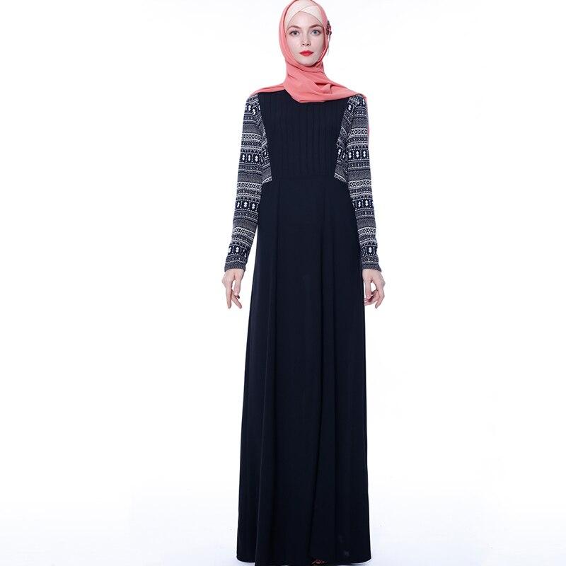 [해외]블랙 vestidos arabe abaya 터키 이슬람 hijab 긴 이슬람 드레스 caftan 두바이 kaftan tesettur elbise 오만 로브 musulmane longue/블랙 vestidos arabe abaya 터키 이슬람 h