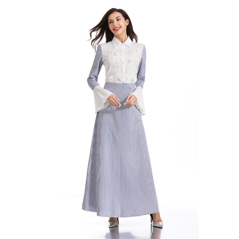 [해외]Abaya 터키 두바이 hijab 이슬람 드레스 kaftan 이슬람 caftan elbise 터키 드레스 여성 이슬람 의류 가운 musulmane femme/Abaya 터키 두바이 hijab 이슬람 드레스 kaftan 이슬람 caftan elb