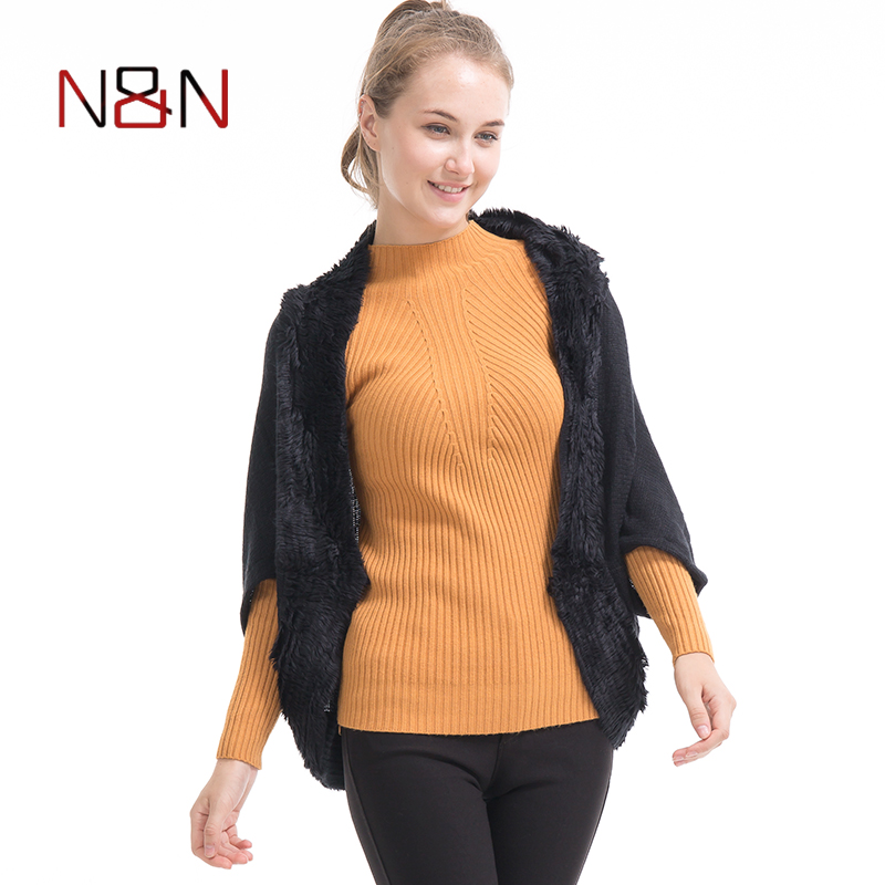 [해외]NN Women Casual Cardigans Spring And Autumn Open Stitch Poncho Knitting  Cardigans V neck Oversized Cardigan Jacket Coat/NN Women Casual Cardigans