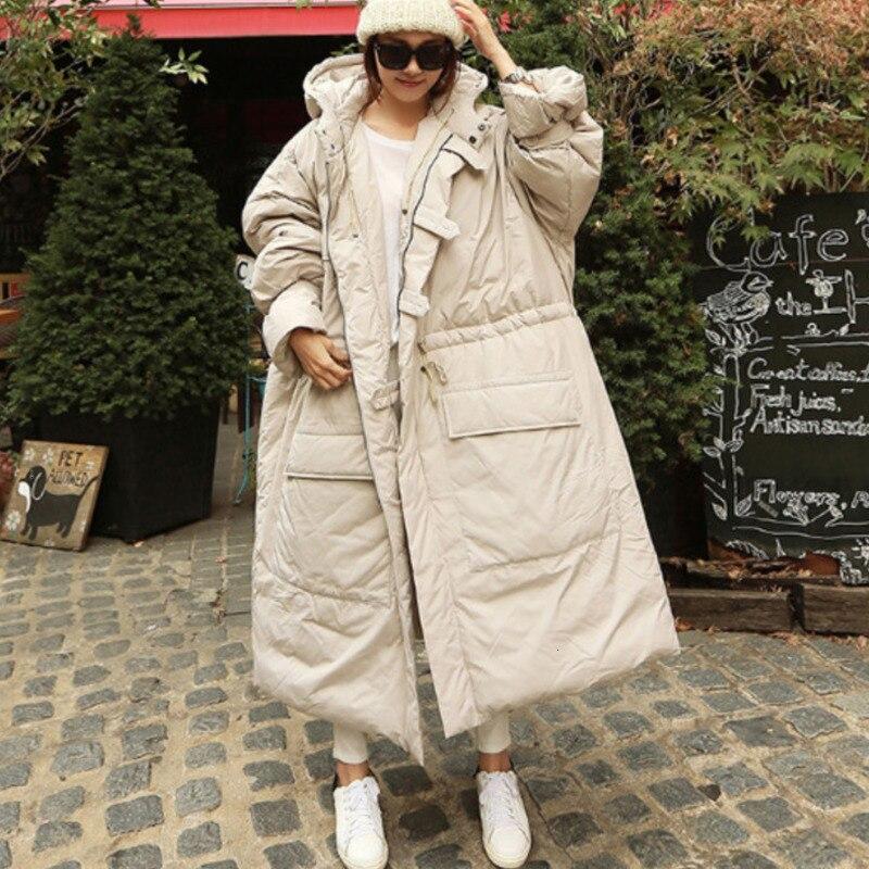 [해외]Tvvovvin 2019 새로운 패션 겨울 느슨한 와이드 코튼 자켓 긴 기금 솔리드 후드 칼라 casaul abrigos mujer invierno x742/Tvvovvin 2019 새로운 패션 겨울 느슨한 와이드 코튼 자켓 긴 기금 솔리드 후