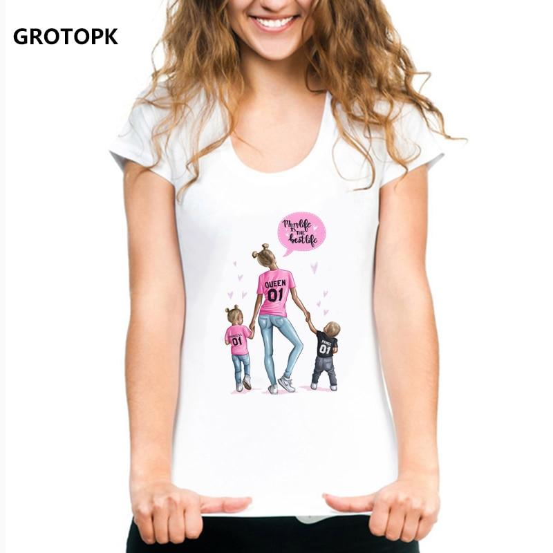 [해외]어머니의 사랑 여성 t-셔츠 슈퍼 엄마 여름 2019 재미 t 셔츠 여성 tshirt 한국 패션 의류 streetwear 보그 티셔츠/어머니의 사랑 여성 t-셔츠 슈퍼 엄마 여름 2019 재미 t 셔츠 여성 tshirt 한국 패션 의류 stre