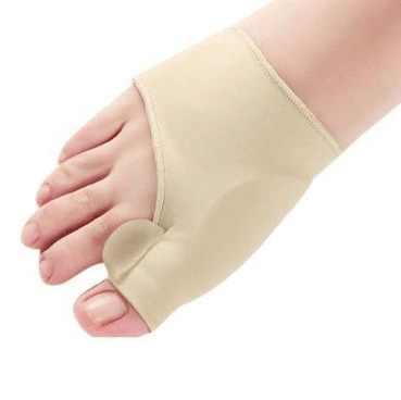 100Pair Big Toe Hallux Valgus Bunion 교정기 Orthotics 발 관리 뼈 Thumb 조절기 교정 Pedicure Socks Straightener